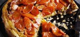 Tarta Tatin de zanahoria